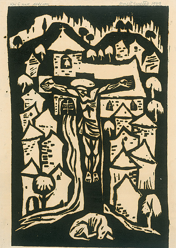 Ernest Zmeták – Kríž nad dedinou
