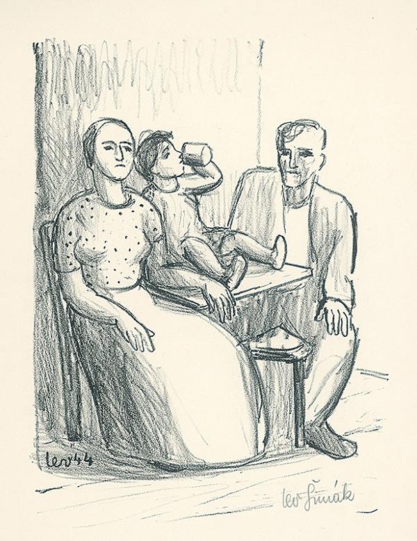 Lev Šimák – Rodina