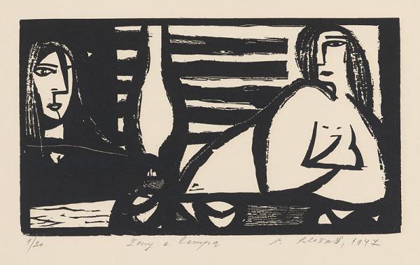 Vincent Hložník – Ženy a lampa