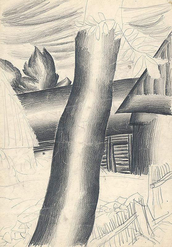 Milan Laluha – Štúdia stromu