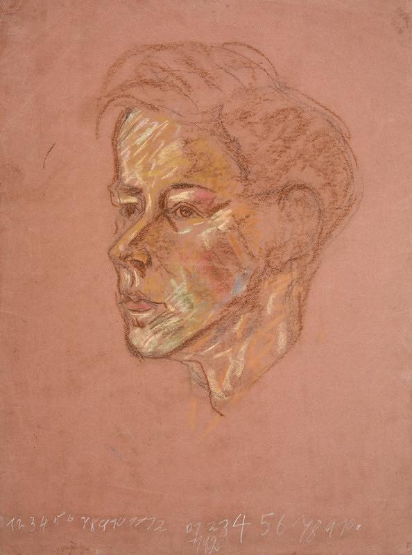 Arnold Peter Weisz-Kubínčan – Hlava chlapca