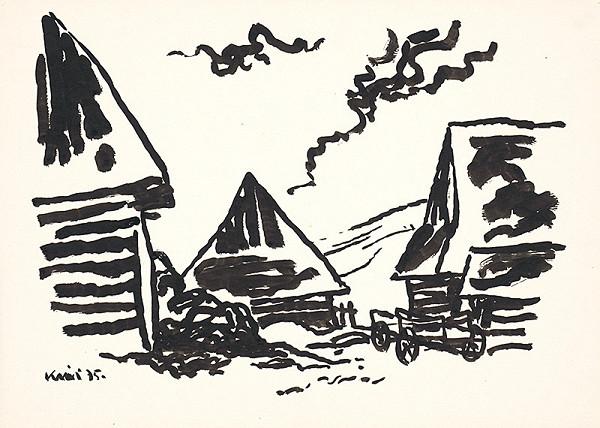 Fero Kráľ - Huty II. Kresba z Oravy XXIX.