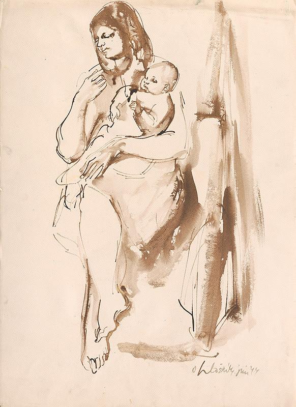 Vincent Hložník - Mladá matka