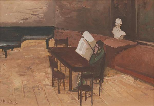 Ferdinand Hložník - V čitárni