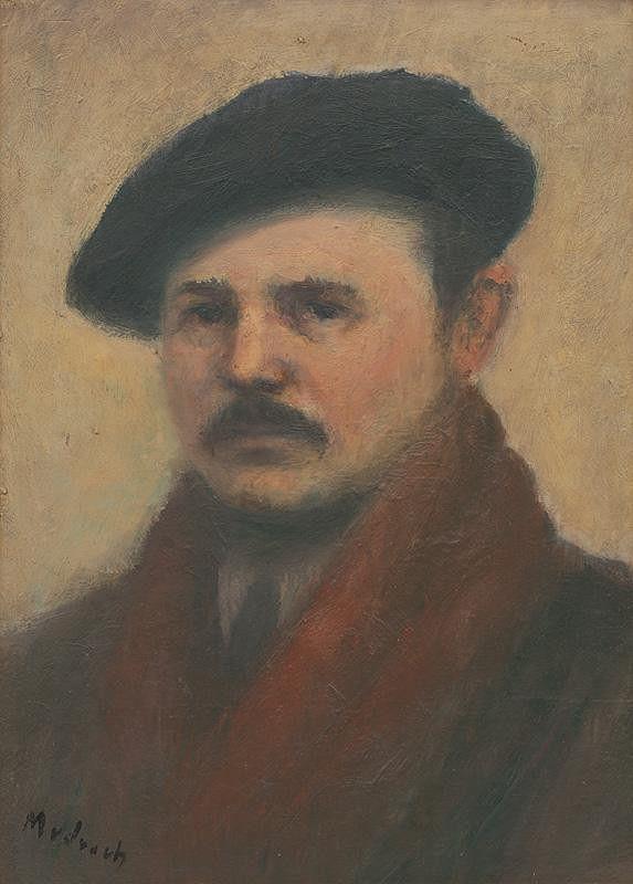 Ján Mudroch – Portrét Františka Kudláča