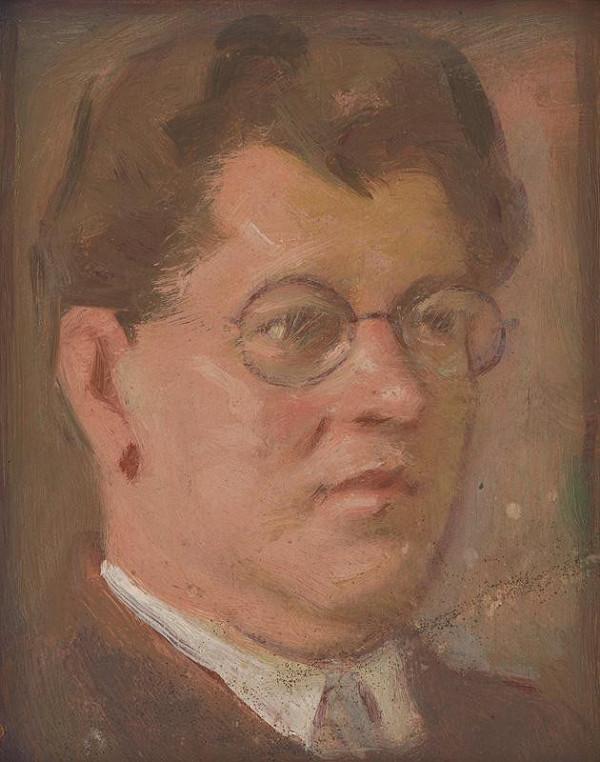 Milan Thomka Mitrovský - Portrét neznámeho muža