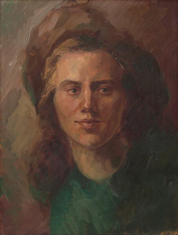 Mária Medvecká – Autoportrét