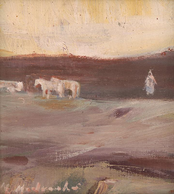 Mária Medvecká – Biely záprah