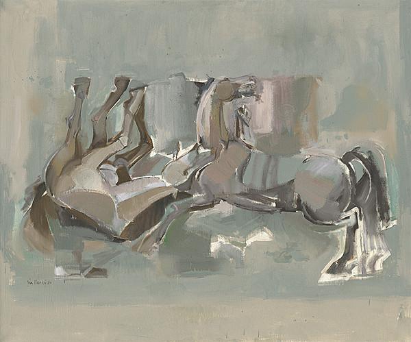 Ján Ilavský - Zápas koní
