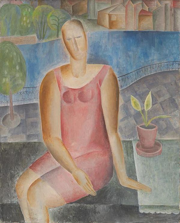Běla Kolčáková - Ružová žena