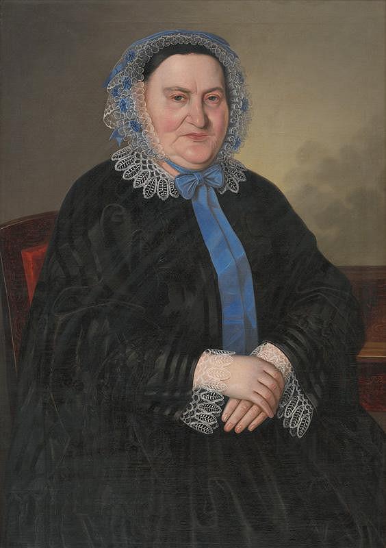Peter Michal Bohúň - Portrét pani Telčovej