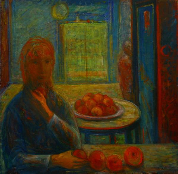Dezider Milly - Dievča s ovocím