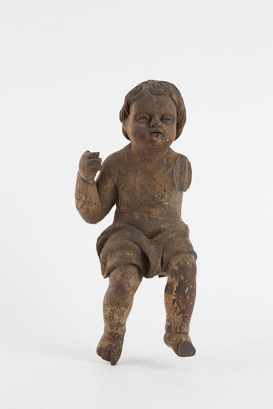 Slovenský rezbár z 2. polovice 18. storočia – Torzo barokovej sošky anjelička