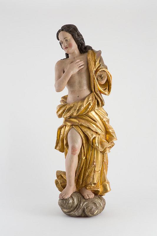 Slovenský rezbár z 18. storočia - Anjel