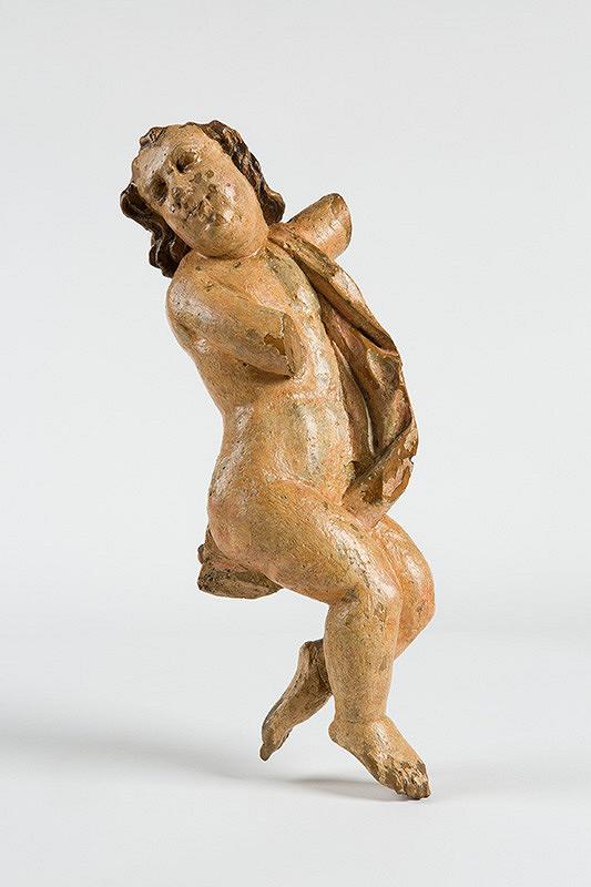 Slovenský rezbár z 2. polovice 18. storočia – Anjel - torzo
