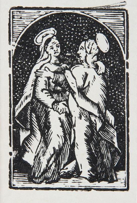 Neznámy autor – Navštívenie Panny Márie