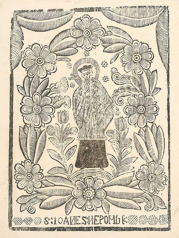 Imrich Spevák – Sv. Ján Nepomucký