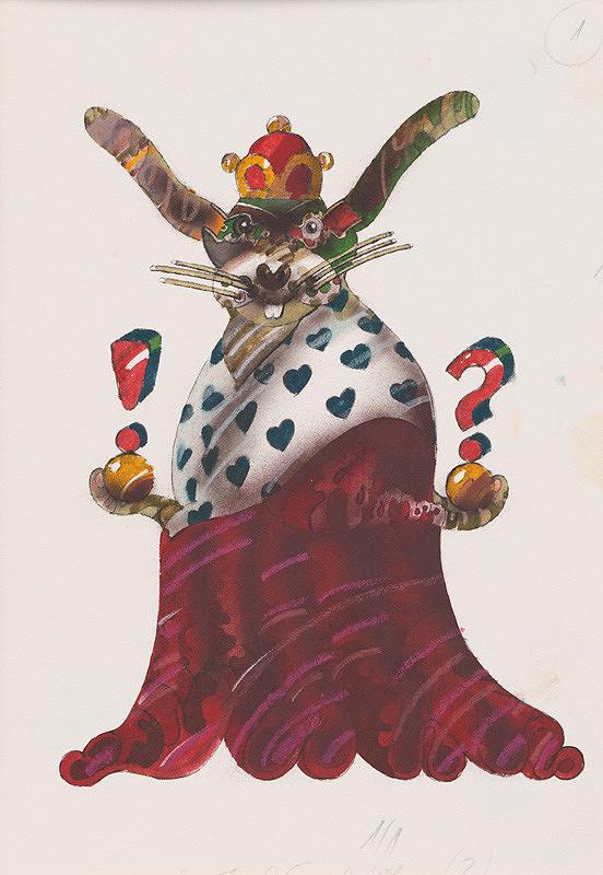 Róbert Brun – Kráľ naháňa králika č.1