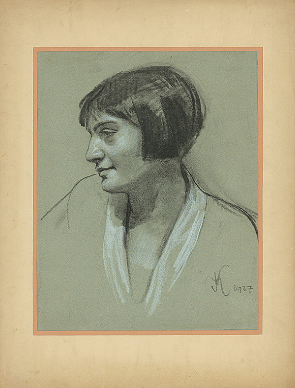Viktor Krupec - Portrét ženy