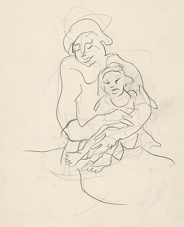 Július Jakoby – Matka s dieťaťom