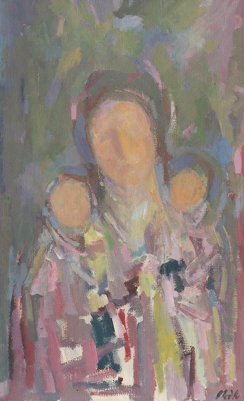 Jozef Ilečko – Matka s dieťaťom