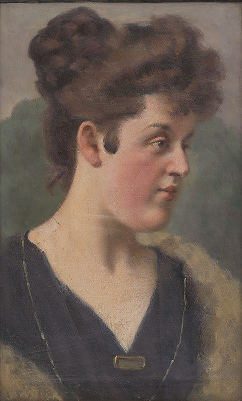 Milan Thomka Mitrovský – Portrét H.Krčméryovej
