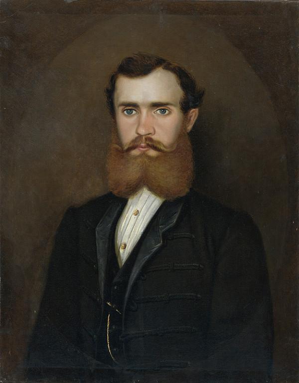 Nemecký autor z 2. polovice 19. storočia – Portrét muža