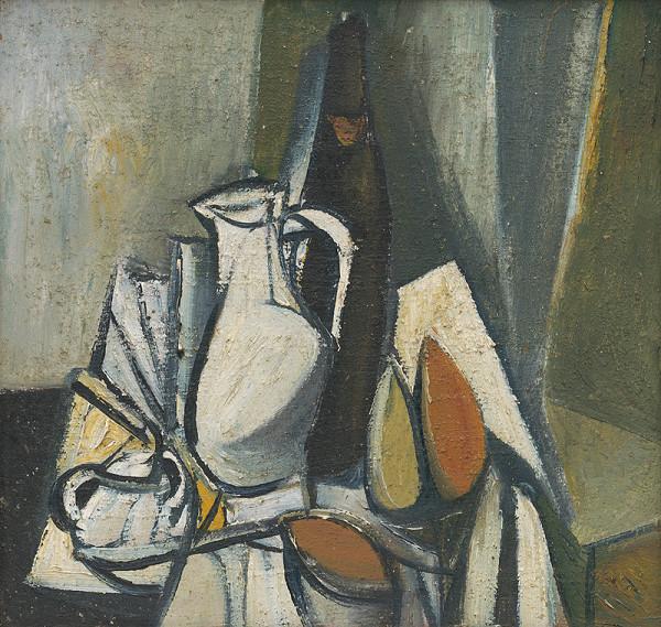 Vincent Hložník – Zátišie s čajníkom