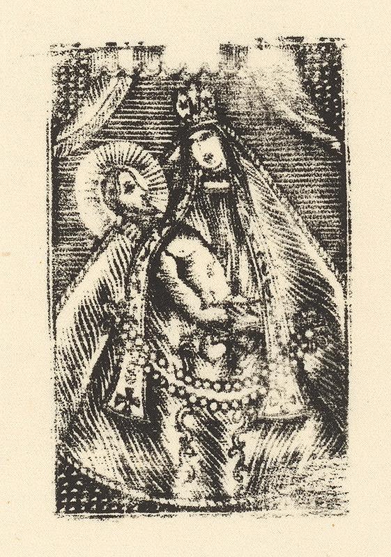 Slovenský grafik zo začiatku 19. storočia - P. Mária podobná bratislavskej