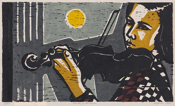 Štefan Čapka – Dievča s husľami