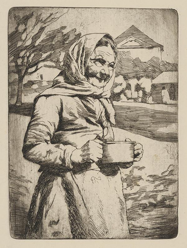 Viktor Hermély – Babička s hrncom