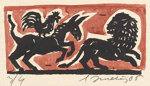 Ernest Zmeták - Somár, kohút a lev