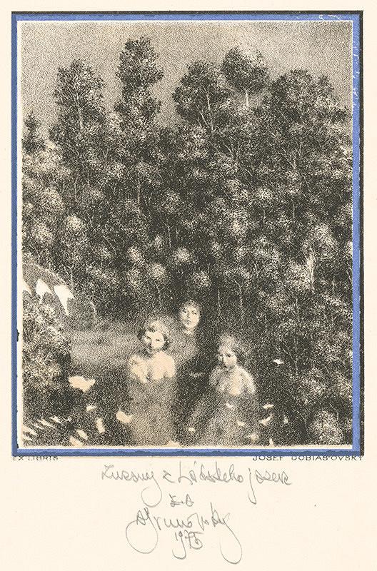 Albín Brunovský - Ex libris Dobiašovský