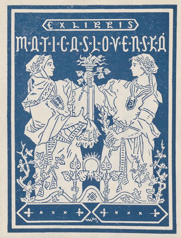 Martin Benka – Ex libris Matica Slovenská