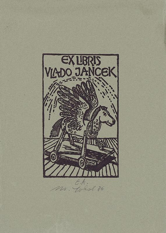 Milan Sokol – Ex libris V.Jancek