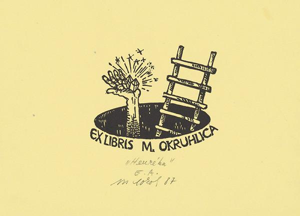 Milan Sokol – Ex libris M.Okruhlica