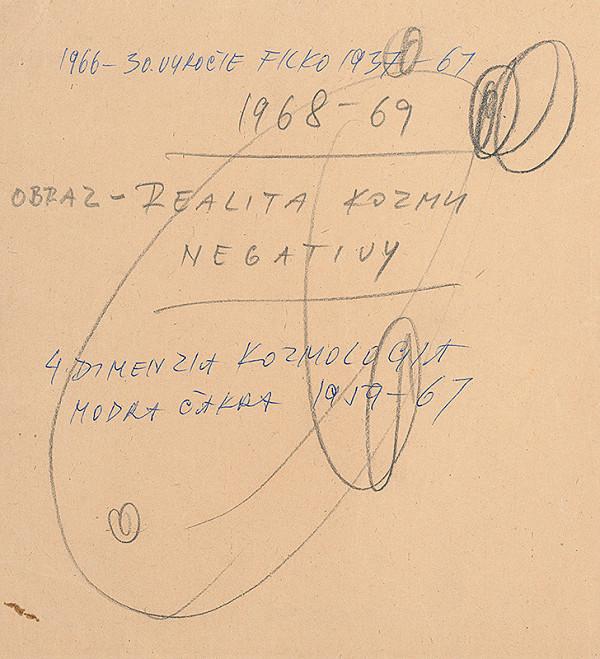 Stanislav Filko – OBRAZ – REALITA KOZMU NEGATIVY, 4. DIMENZIA KOZMOLOGIA MODRA ČAKRA