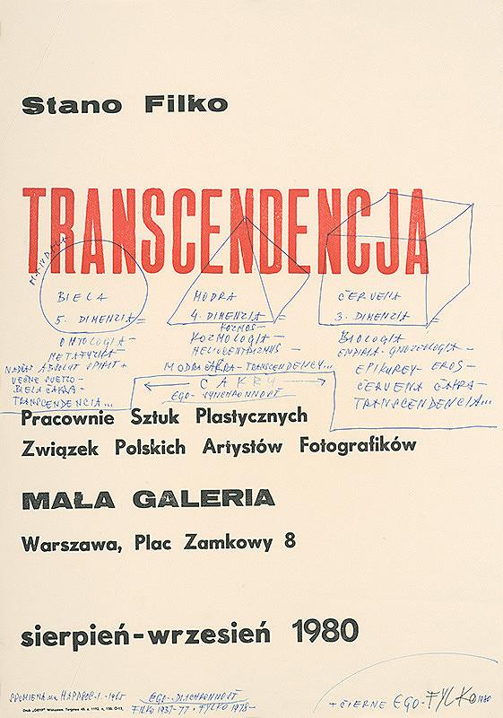 Stanislav Filko – SPOMIENKA na HAPPSOC – I. 1965 + ČIERNE EGO – FYLKO 1980 (časť názvu