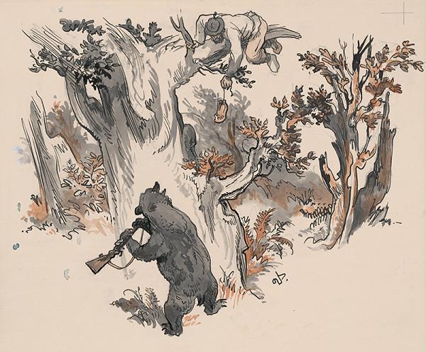 Jaroslav Vodrážka - Medveď s prestreleným boltcom