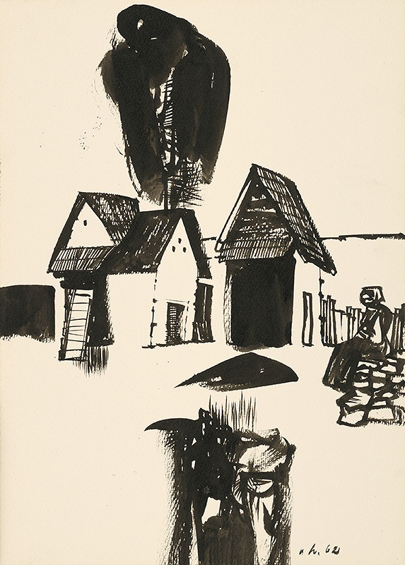 Vincent Hložník – Kresba I.