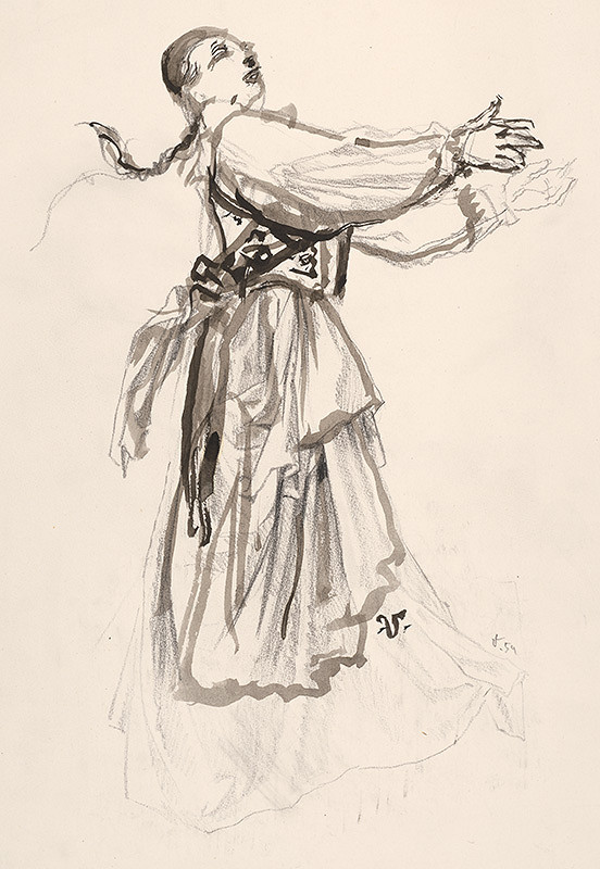 Jaroslav Vodrážka – Dievča