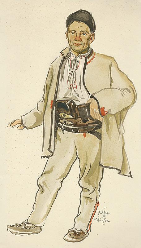 Jaroslav Vodrážka – Muž z Heľpy v bielom