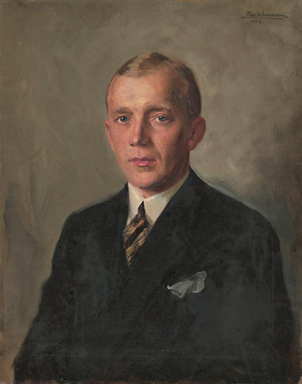 Maximilián Schurmann - Portrét muža