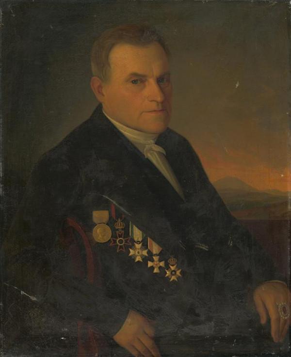 Jozef Božetech Klemens – Portrét Andreja Zipsera