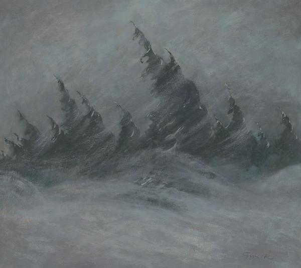 Edmund Gwerk - Snehová víchrica vo Vysokých Tatrách