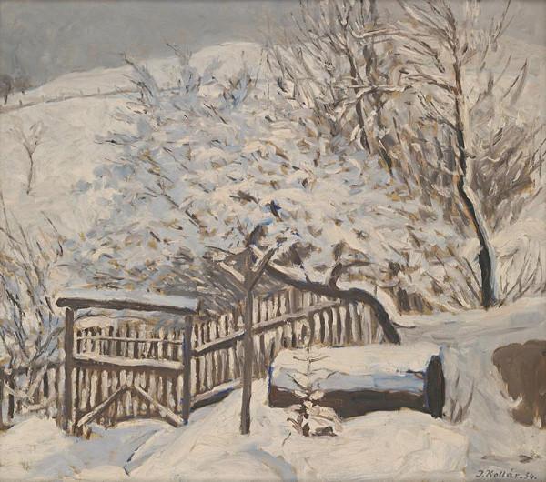 Jozef Kollár - Zima v záhrade