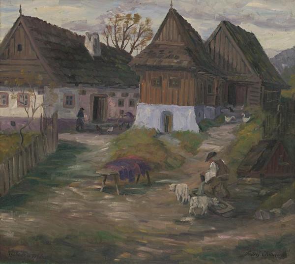 Ondrej Ivan - Dvor vo východnej
