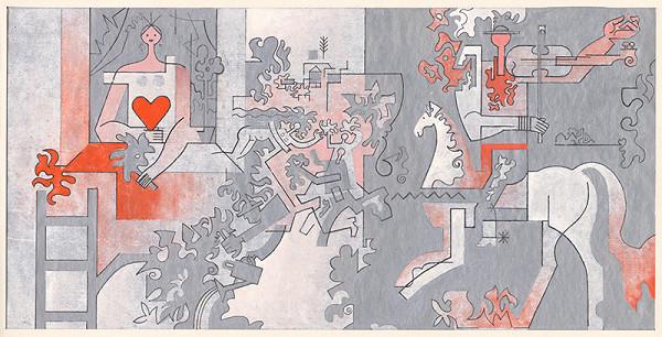 Oto Opršal – Návrh na mozaiku pre slobodáreň Humenné