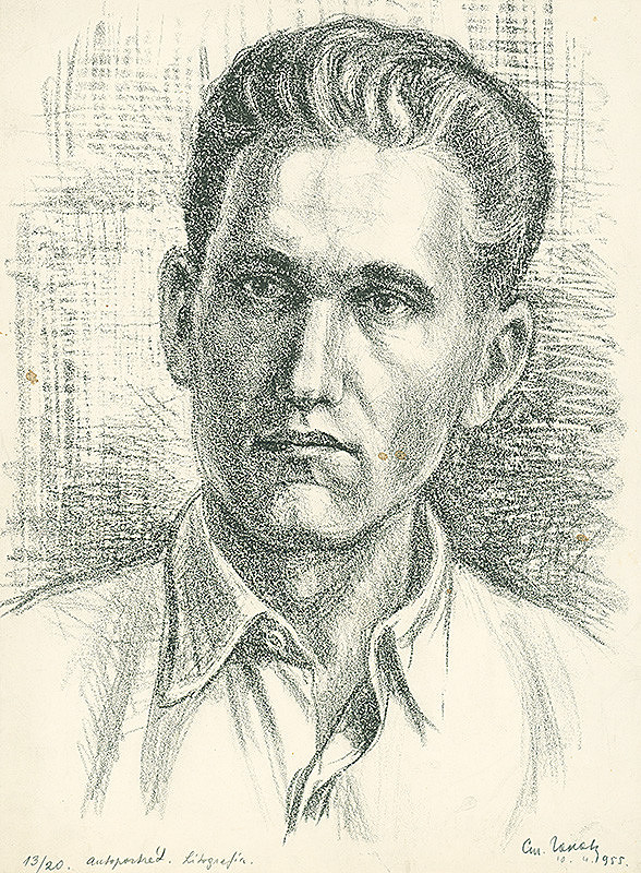 Štefan Hapák – Vlastná podobizeň