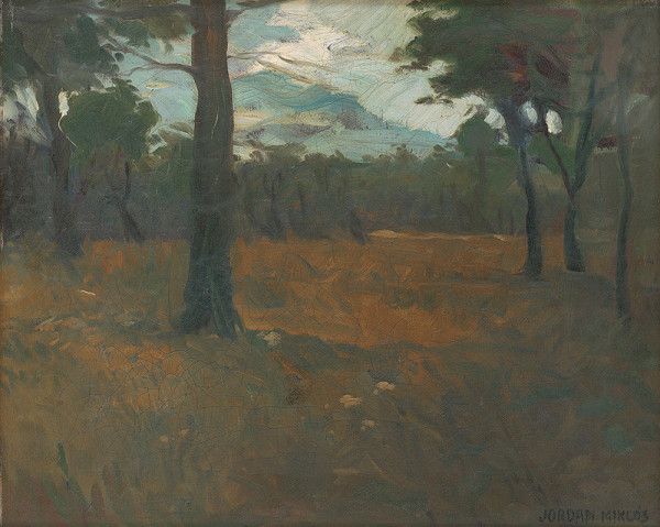 Mikuláš Jordán – Časť lesa